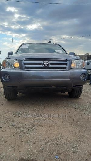 Toyota Highlander 2007 4x4 Gray   Cars for sale in Lagos State, Lekki