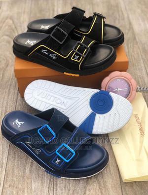 Unisex Louis Vuitton Slippers | Shoes for sale in Lagos State, Lagos Island (Eko)