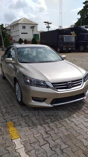 Honda Accord 2015 Gold | Cars for sale in Lagos State, Ikeja