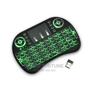 Wireless I8 Mini Keyboard With Backlit Air Mouse Remote   Computer Accessories  for sale in Lagos State, Ikeja