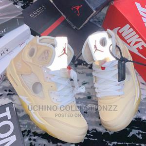 ` New Virgil'S Jordan 5 Reflective Off-White Shoe | Shoes for sale in Lagos State, Lagos Island (Eko)
