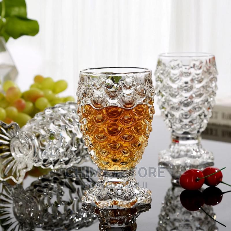 6 Pcs Set 230ml Fish Scale Cup Red Wine Glass Cup Fruit | Kitchen & Dining for sale in Lekki, Lagos State, Nigeria