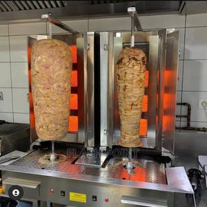 Imported Shawarma Machine Gas With Italian Burners Availably | Restaurant & Catering Equipment for sale in Lagos State, Ikoyi