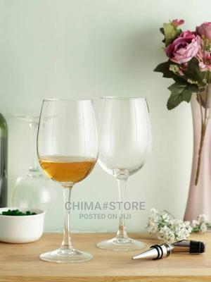 6 Set of Transparent Wine Glass | Kitchen & Dining for sale in Lagos State, Lagos Island (Eko)