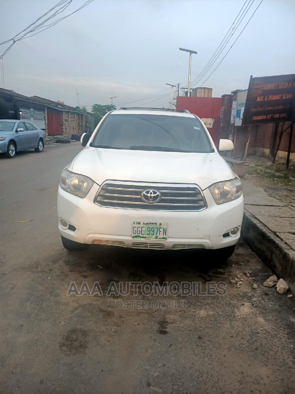 Toyota Highlander 2009 Limited 4x4 White