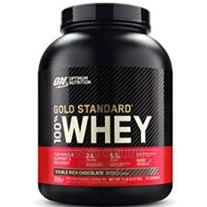 Optimum Nutrition Gold Standard Whey Ptotein | Vitamins & Supplements for sale in Lagos State, Ikoyi