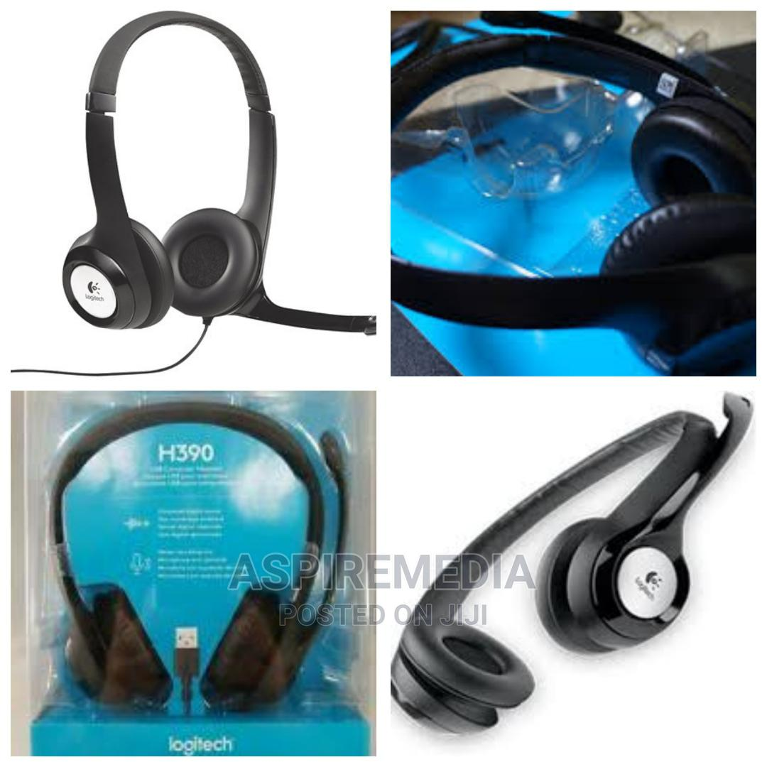 Logitech - H390 USB Headset With Noise-canceling Microphone | Headphones for sale in Alimosho, Lagos State, Nigeria