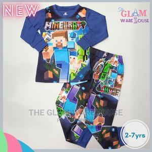 Minecraft Boys Pyjamas Night Sleep Wear Set 2yrs   Children's Clothing for sale in Lagos State, Surulere