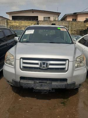 Honda Pilot 2008 SE 4x4 (3.5L 6cyl 5A) Silver   Cars for sale in Lagos State, Surulere