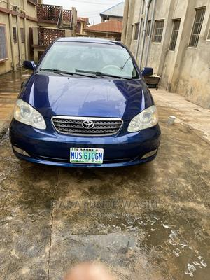 Toyota Corolla 2007 1.6 VVT-i Blue   Cars for sale in Oyo State, Ibadan