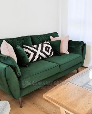 3 Fabric Sofa .(Lead Time)5days.Can Come in Colors   Furniture for sale in Lagos State, Ajah