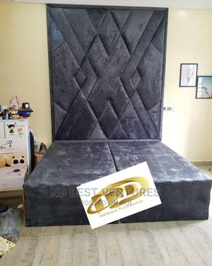 Luxury Padded Modern Bedframe | Furniture for sale in Lagos State, Ajah