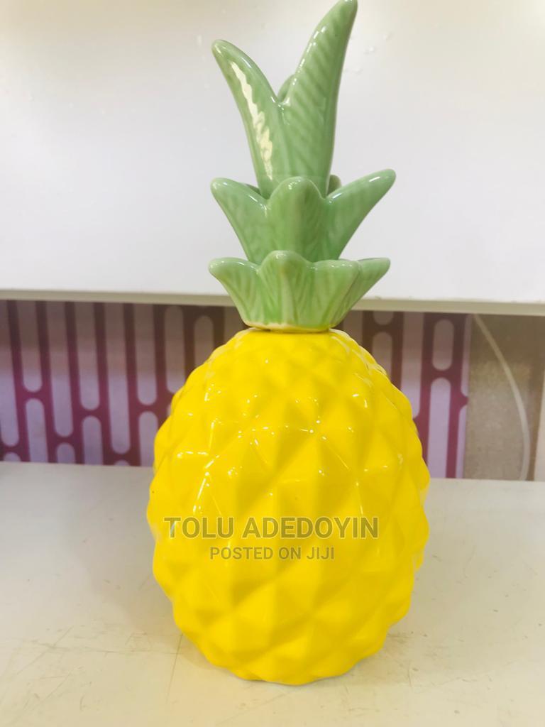 Pineapple Decorative Figurine for Table Decoration | Home Accessories for sale in Oshodi, Lagos State, Nigeria