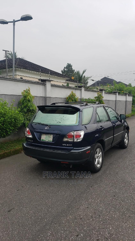Lexus RX 2002 300 2WD Blue | Cars for sale in Uyo, Akwa Ibom State, Nigeria