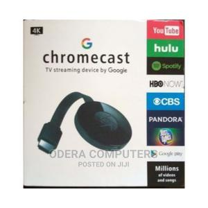 Google Chromecast TV Streaming Device Anycast Wireless   Accessories & Supplies for Electronics for sale in Lagos State, Ikeja