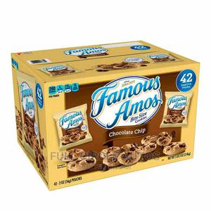 Famous Amos Chocolate Chip Cookies (2 Oz., 42 Ct.)   Meals & Drinks for sale in Lagos State, Ikeja