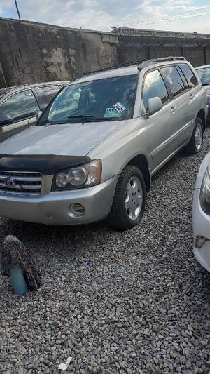 Toyota Highlander 2003 Limited V6 AWD Silver | Cars for sale in Lagos State, Ikeja