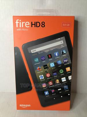 New Amazon Fire HD 8 64 GB Gray   Tablets for sale in Lagos State, Agege