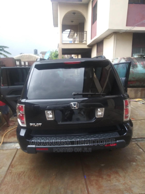 Honda Pilot 2006 EX 4x4 (3.5L 6cyl 5A) Black   Cars for sale in Ibadan, Oyo State, Nigeria