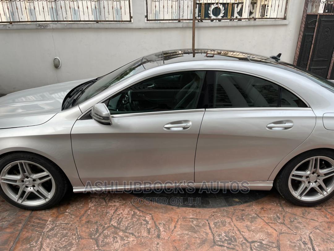Archive: Mercedes-Benz CLA-Class 2015 Silver