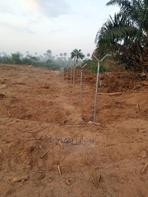 Chain Link Fencing With Barb Wire for Farm | Building & Trades Services for sale in Oyo State, Ibadan