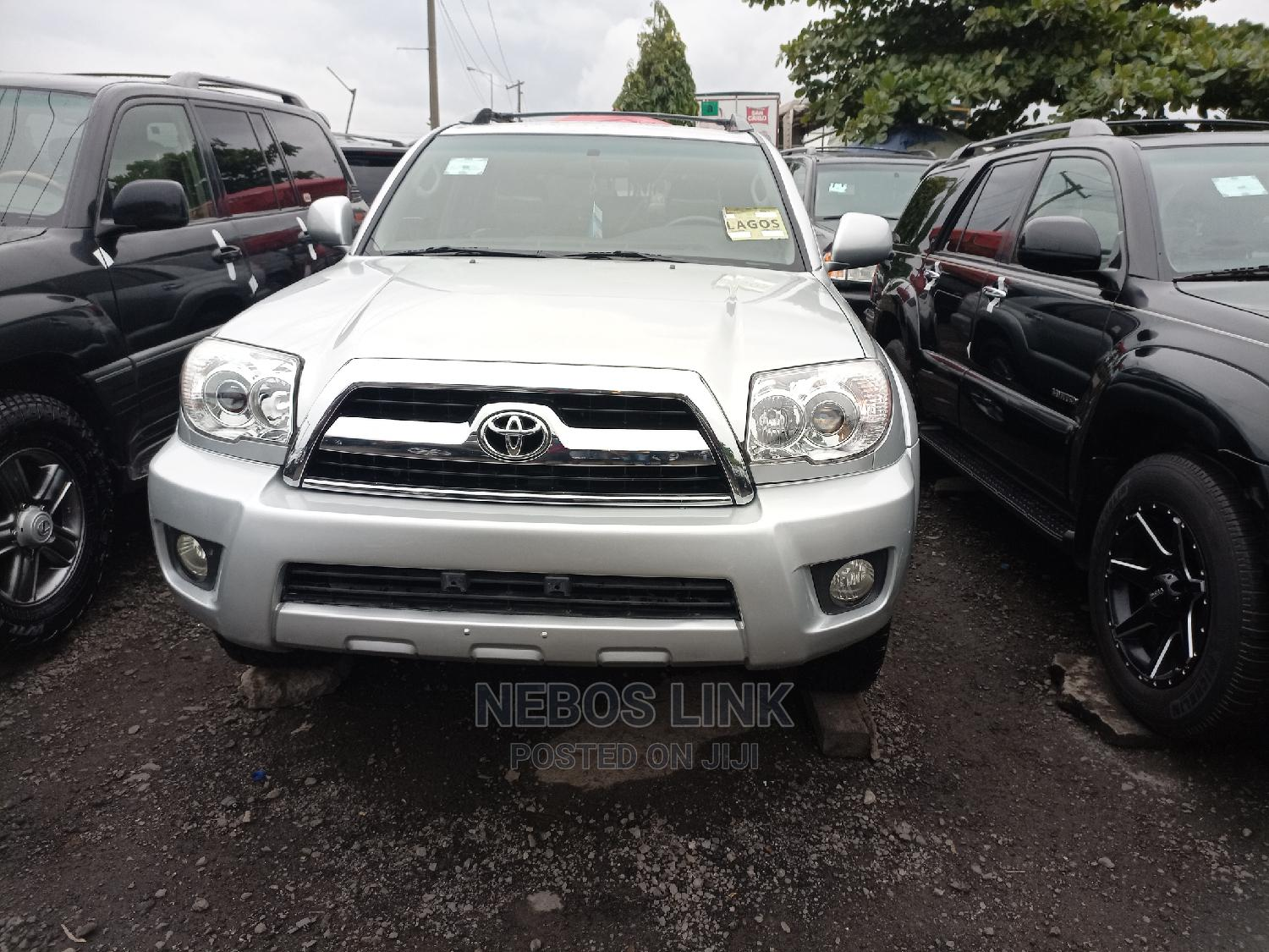 Archive: Toyota 4-Runner 2006 Limited 4x4 V6 Silver