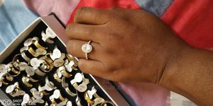 Pure Sterling Silver Life Time Usage Engagement Rings   Wedding Wear & Accessories for sale in Edo State, Benin City
