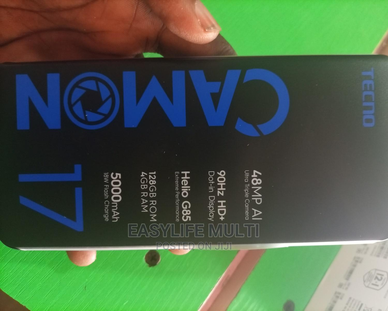 New Tecno Camon 17 128 GB Gray   Mobile Phones for sale in Ilaje, Ondo State, Nigeria