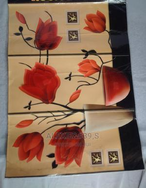Plush Rose Embellished Diy Removable 3d Wall Stickers | Home Accessories for sale in Abuja (FCT) State, Kubwa