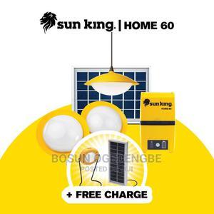 Sun King Home 60 Solar Powered Home Lighting System - Yellow | Solar Energy for sale in Lagos State, Ikorodu