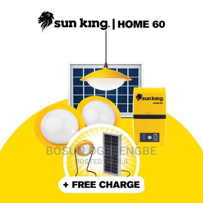 Sun King Home 60 Solar Powered Home Lighting System - Yellow