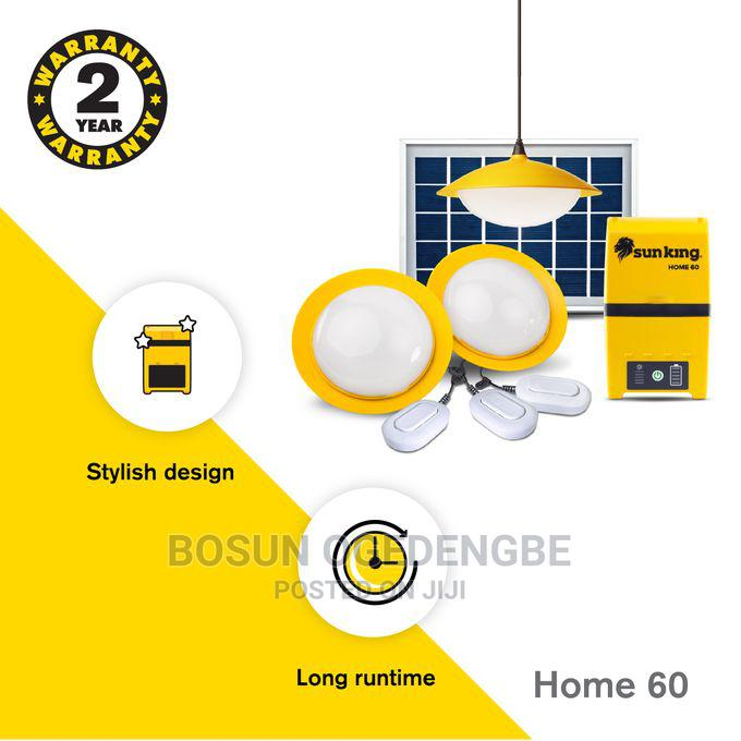 Sun King Home 60 Solar Powered Home Lighting System - Yellow | Solar Energy for sale in Ikorodu, Lagos State, Nigeria