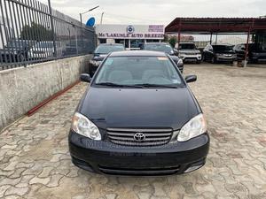 Toyota Corolla 2004 Black   Cars for sale in Lagos State, Lekki