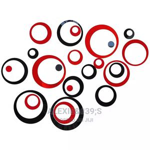 Multicolour Circles Diy Removable 3d Wall Stickers | Home Accessories for sale in Abuja (FCT) State, Kubwa