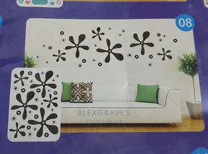 Black and Silver Removable 3d Wall Stickers | Home Accessories for sale in Abuja (FCT) State, Kubwa