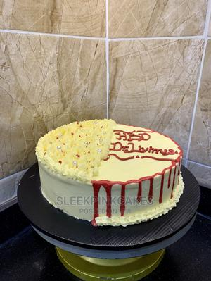 1layer 9 Inches Cake | Meals & Drinks for sale in Abuja (FCT) State, Wuse 2