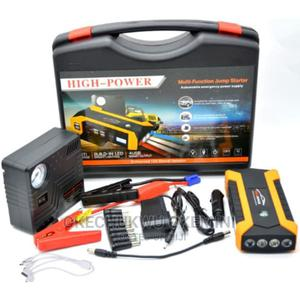 Jump Starer With Tyre Inflator | Vehicle Parts & Accessories for sale in Lagos State, Ikeja