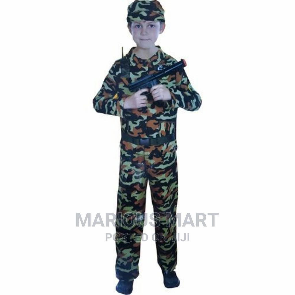 Career Day Army Costume for Kids