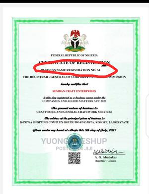 Cac Business Registration | Legal Services for sale in Lagos State, Alimosho