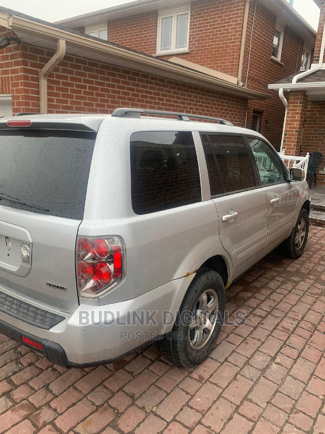 Honda Pilot 2006 LX 4x4 (3.5L 6cyl 5A) Silver   Cars for sale in Alimosho, Lagos State, Nigeria