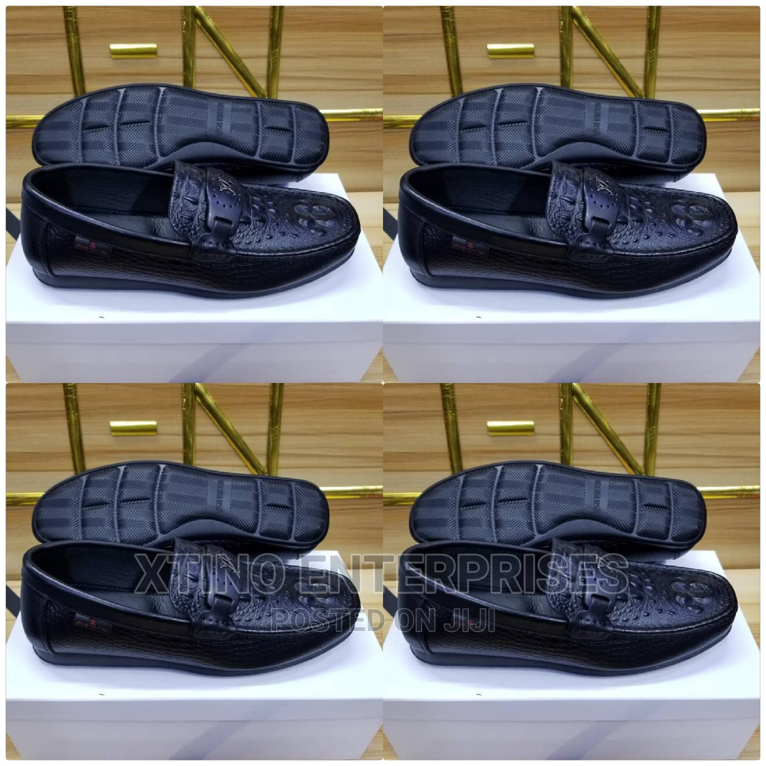 Louis Vuitton Driver Loafers Shoe Original | Shoes for sale in Surulere, Lagos State, Nigeria