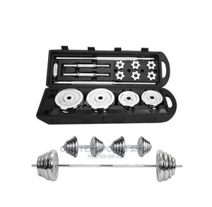 Brand New 50kg Dumbell With Case | Sports Equipment for sale in Lagos State, Ikoyi