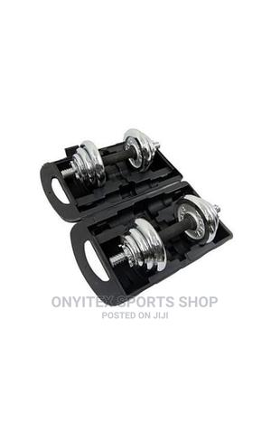 20kg Dumbbell With Case | Sports Equipment for sale in Lagos State, Eko Atlantic