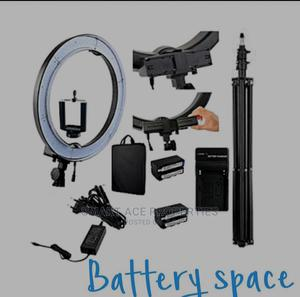 18 Inche Rechargeable Manual Ring Let Ght | Stage Lighting & Effects for sale in Lagos State, Alimosho
