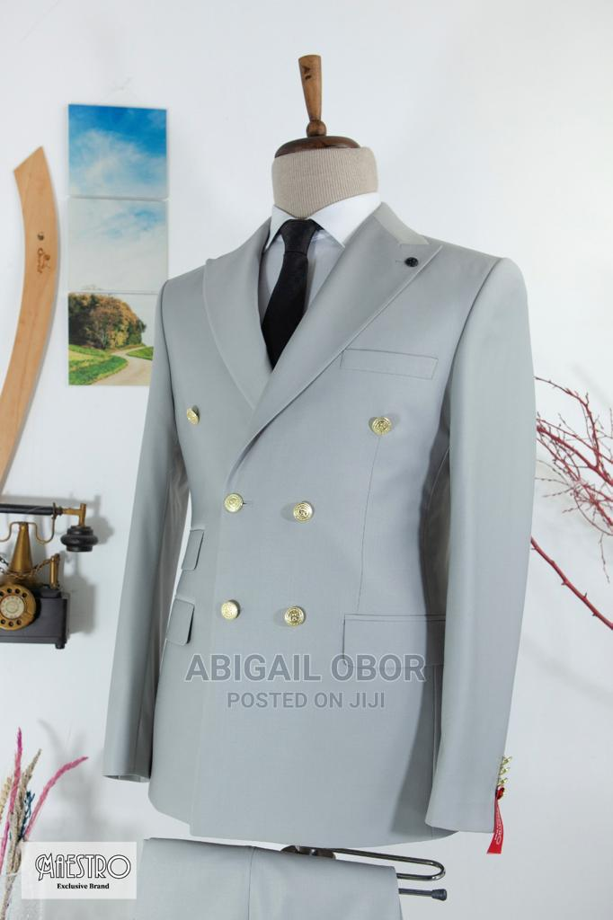 Archive: Double Breasted Suit for Men