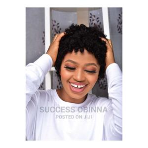 Short Human Curl Wig   Hair Beauty for sale in Delta State, Ukwuani