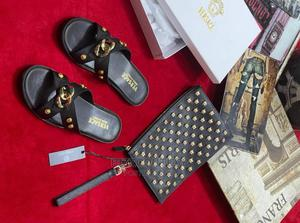 High Quality VERSACE Slippers for Men's Available for Sale | Shoes for sale in Lagos State, Magodo