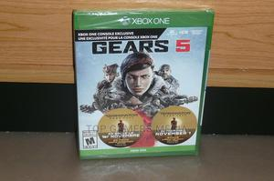 Brand New Sealed Gears 5 - XBOX ONE | Video Games for sale in Lagos State, Agege