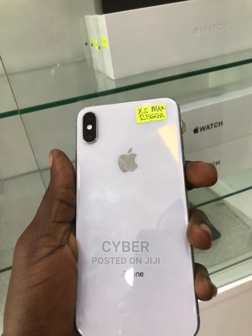 Apple iPhone XS Max 256 GB Silver   Mobile Phones for sale in Ikeja, Lagos State, Nigeria