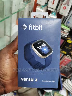 Fitbit Versa 3 Gps+Smart Watch | Smart Watches & Trackers for sale in Lagos State, Ikeja